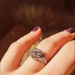 Jillian Jacqueline's Round Cut Diamond Ring