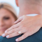 Lauren Pesce's Emerald Cut Diamond Ring