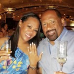 Patrice Basanta-Henry's Emerald Cut Diamond Ring