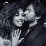 Jade Ewen's Round Cut Diamond Ring