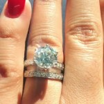 Kiki Harrison's Round Cut Diamond Ring