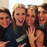 Jessica Mack's Round Cut Diamond Ring