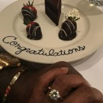 Taraji P. Henson's Round Cut Diamond Ring