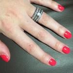 Clare Ratcliffe's Round Cut Diamond Ring