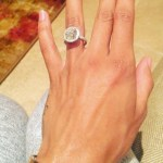 Morgan Poole's Round Cut Diamond Ring