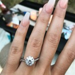 Morgan Marie's Round Cut Diamond Ring
