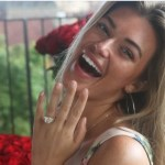 Samantha Hoopes' Emerald Cut Diamond Ring