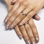 Lydia Millen's Square Shaped Diamond Ring