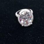 Porsha Williams' 13 Carat Round Cut Diamond Ring