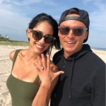 Allison Stokke's Cushion Cut Diamond Ring