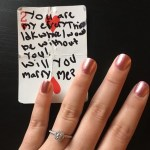 Meg Haney's Round Cut Diamond Ring
