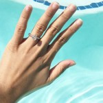 Michelle Madrigal's Pear Shaped Diamond Ring