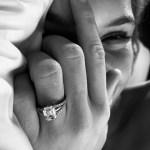 Josephine Skriver's Emerald Cut Diamond Ring