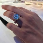 Miranda Pak's Round Cut Diamond Ring