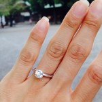 Reina Scully's Round Cut Diamond Ring