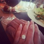Veronica Llamas' Cushion Cut Diamond Ring