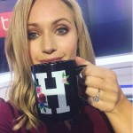 Hayley McQueen's Round Cut Diamond Ring
