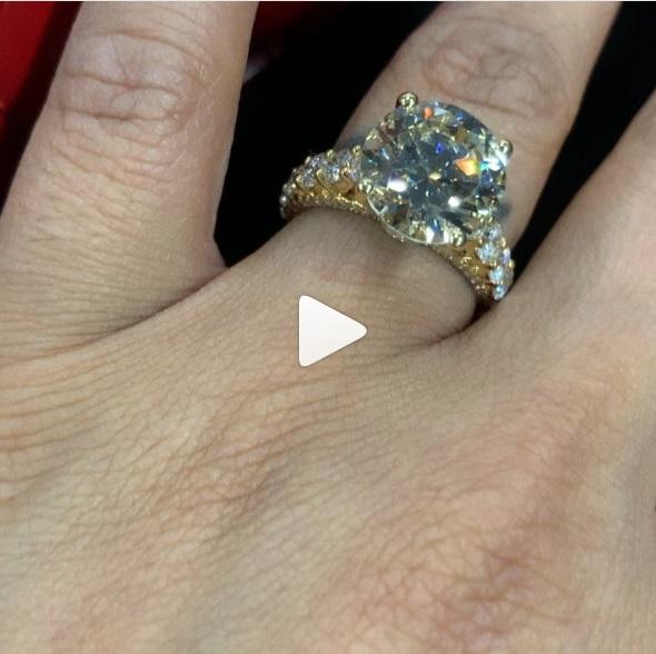 Tammy Rivera's Round Cut Diamond Ring