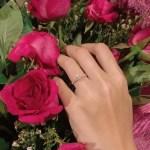 Anna Mabasa's Round Cut Diamond Ring