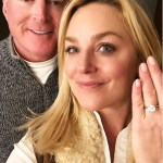 Elisabeth Rohm's Round Cut Diamond Ring