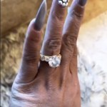 Kimberly James' Round Cut Diamond Ring