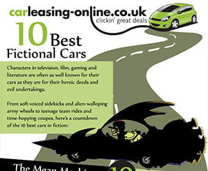 The 10 Best Fictional Cars