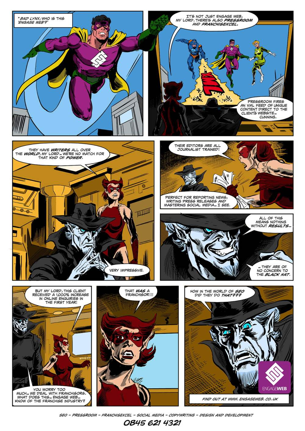 Engage Web Comic
