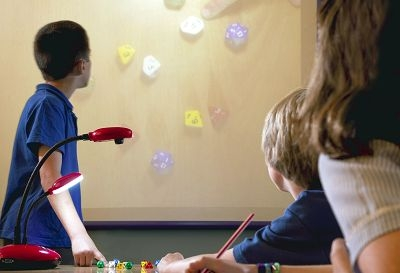 document camera ideas - displaying dice on screen