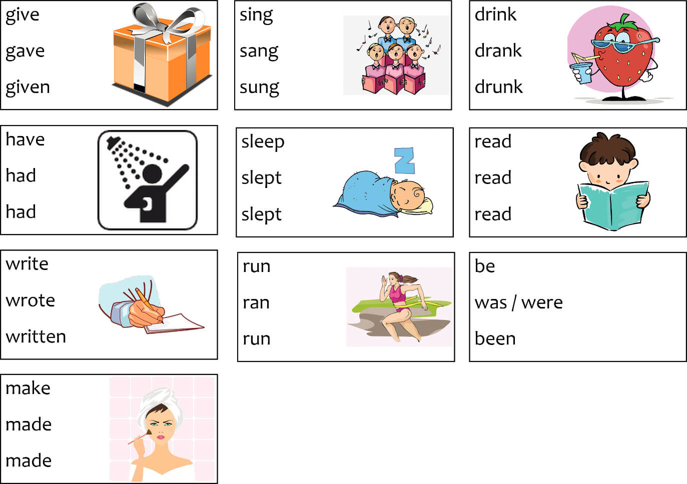English Verb Download Free