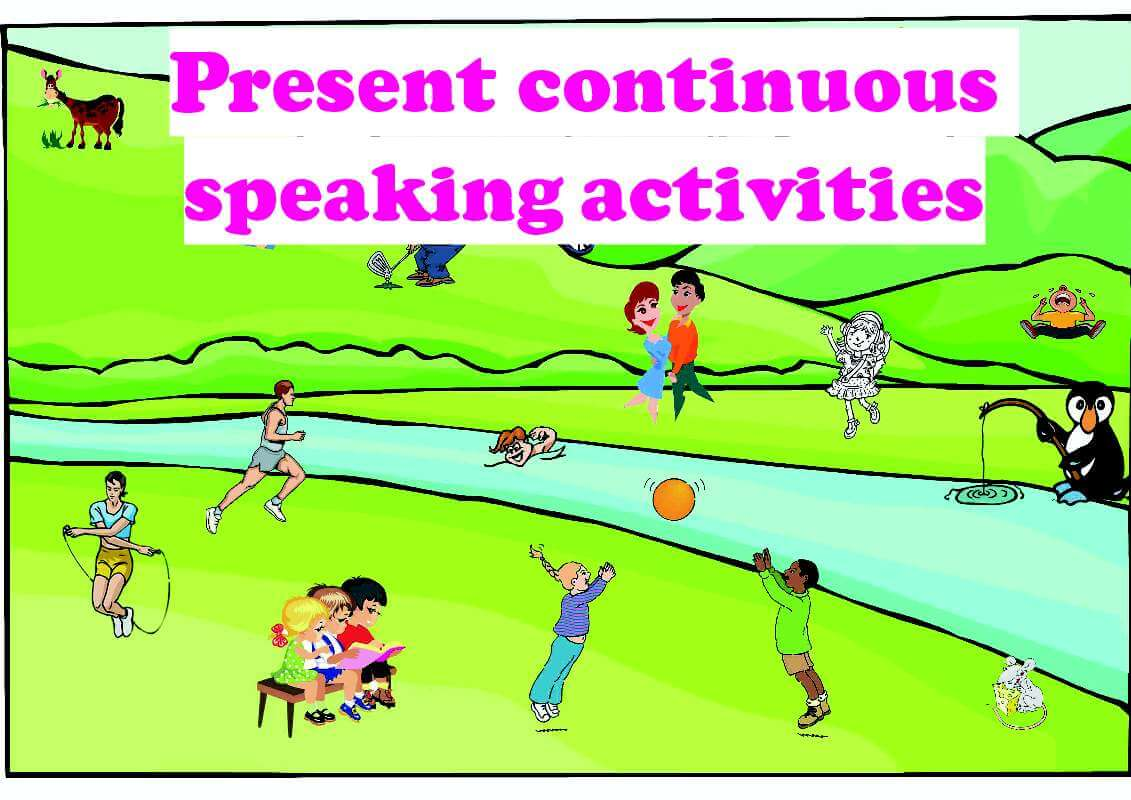 Present Continuous Tense Speaking