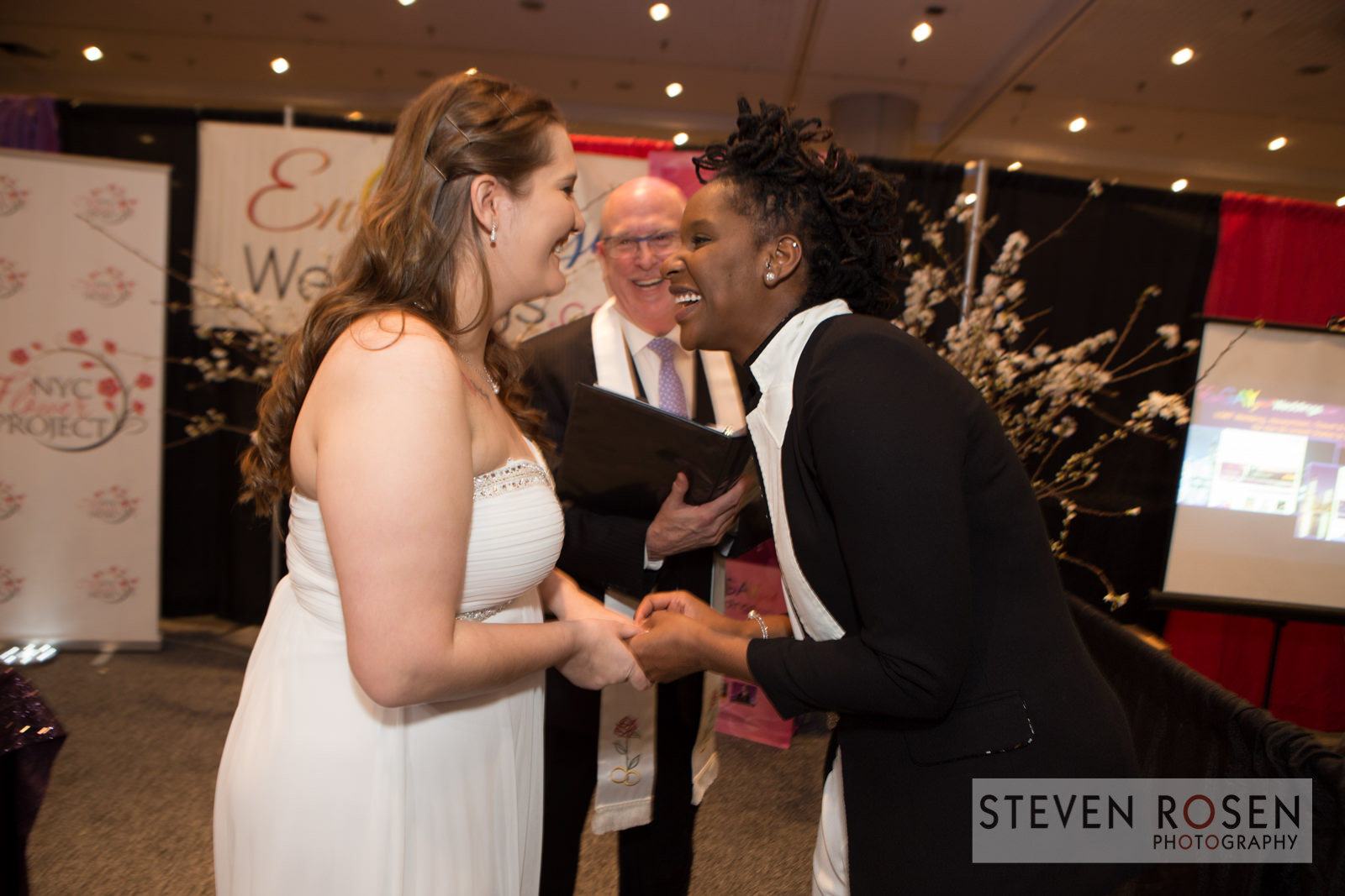 LGBT Wedding Photos Val Chelsey EnGAYged Wedding EXPO Giveaway