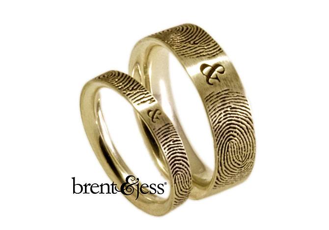 Gay And Lesbian Wedding Bands Brent And Jess Jewelry