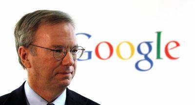 إيريك شميت, المدير التنفيذي لجوجل حتى عام ٢٠١١