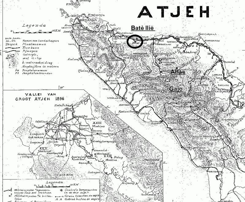 peta aceh jaman belanda