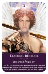 Gratis Kartenlegen Kraft der Engel Orakel Kaerte 2 Erzengel Michael Enngelmedium Daniela
