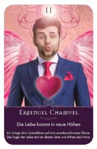 Gratis Kartenlegen Kraft der Engel Orakel Karte 11 Erzengel Chamuel