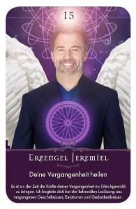 Gratis Kartenlegen Kraft der Engel Orakel Karte 15 Erzengel Jeremiel