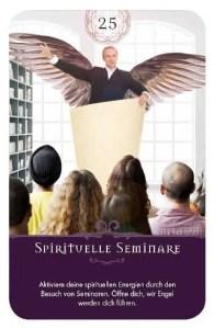 Gratis Kartenlegen Kraft der Engel Orakel Karte 25 Spirituelle Seminare