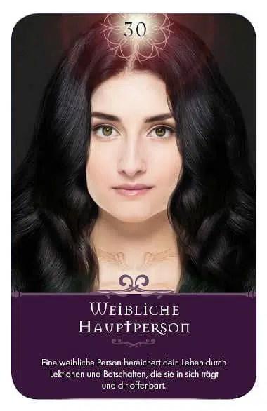 Gratis Kartenlegen Kraft der Engel Orakel Karte 30 Weibliche Hauptperson