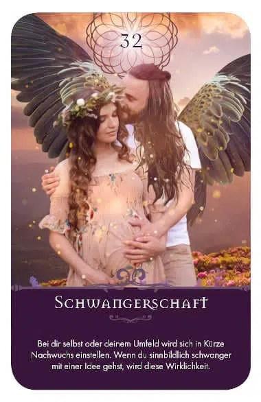 Gratis Kartenlegen Kraft der Engel Orakel Karte 32 Schwangerschaft