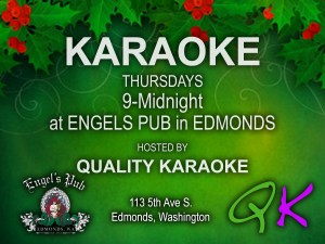 Karaoke at Engel's Pub