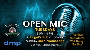Open Mic Night Every Tuesday at Engel's Pub