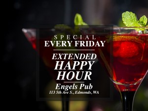 Extended Happy Hour at Engel's Pub