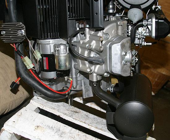 Kawasaki Fd731v Bs07 Vertical Crankshaft Engine