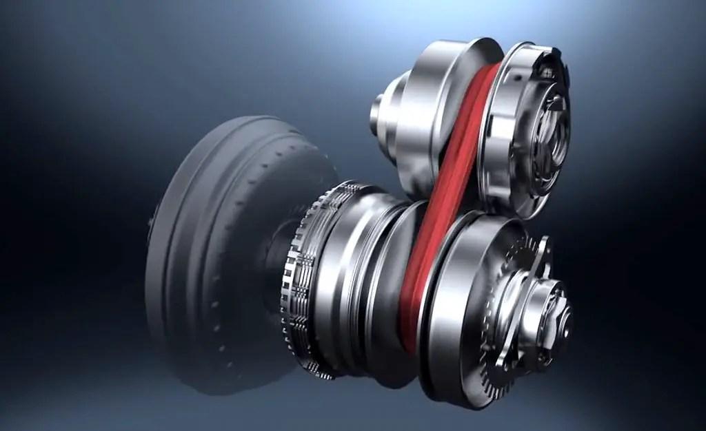 CVT-transmission