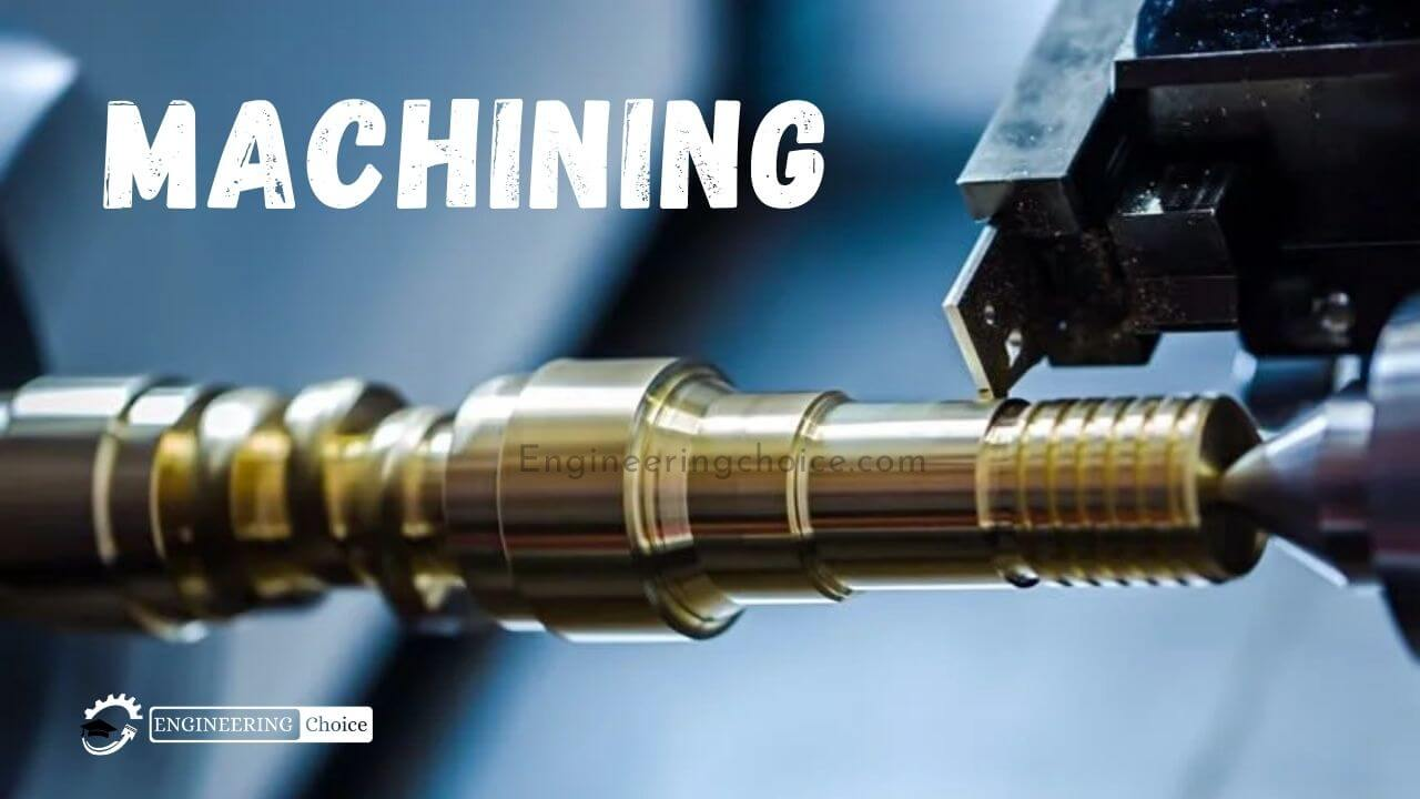 Machining is a prototyping and manufacturing process that creates the desired final shape by removing unwanted material from a larger piece of material.