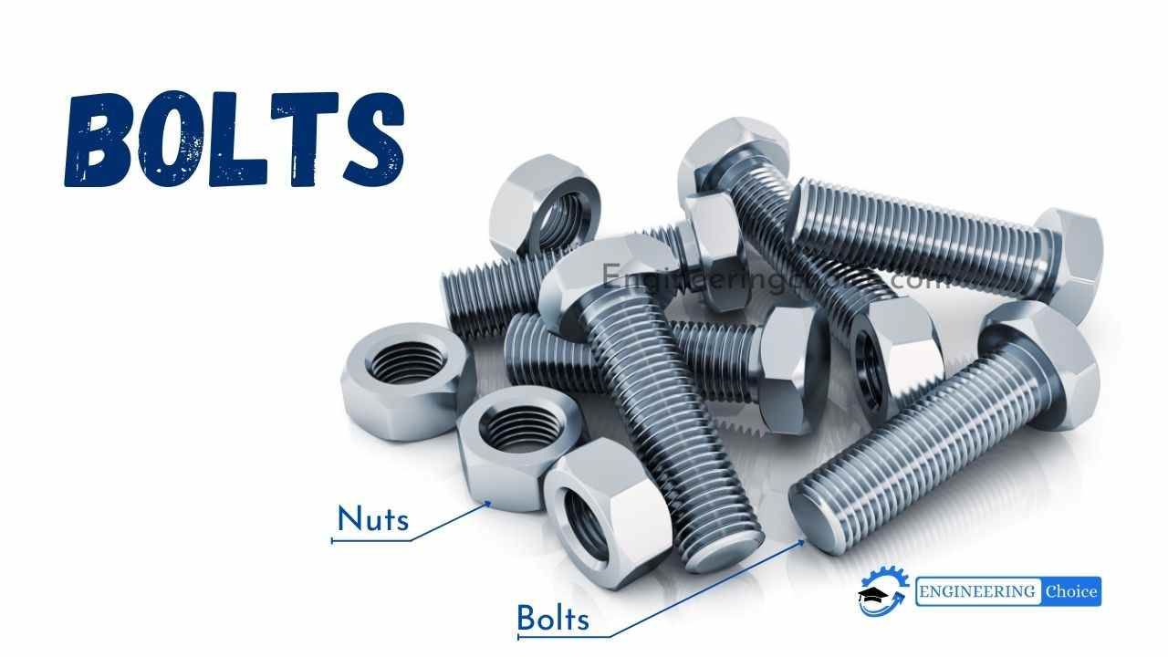 A bolt is a form of threaded fastener with an external thread that requires a matching preformed internal thread such as a nut.