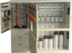 Capacitor panel for improve power factor