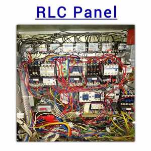 OLD relay RLC panel