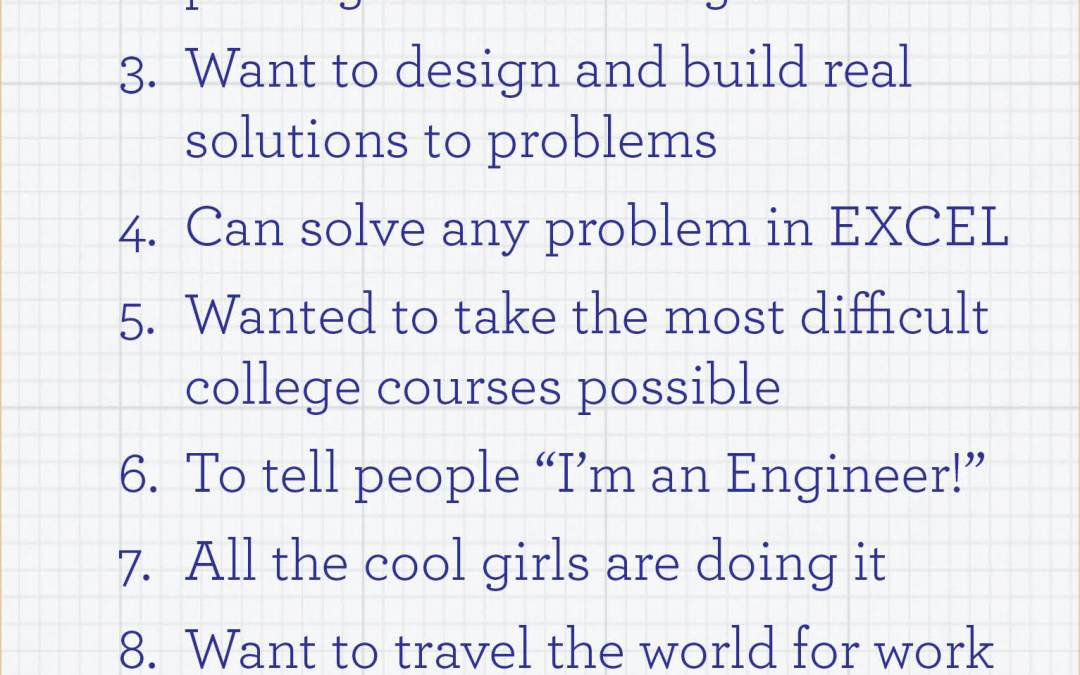 Top 10 Reasons to Become an Engineer